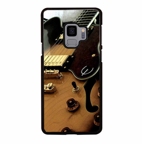 BLACK AND GOLD GUITAR for Samsung Galaxy S9 Case Cover