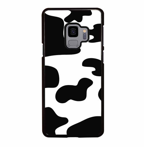 BLACK AND WHITE COW PRINT for Samsung Galaxy S9 Case