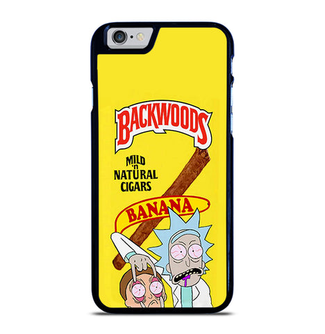 Backwoods Rick And Morty for iPhone 6 and 6S Case