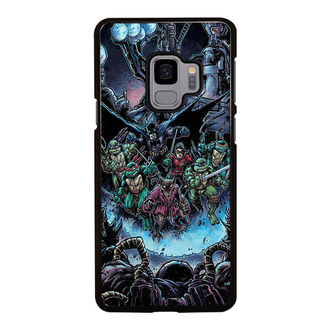 Batman Teenage Mutant Ninja Turtles Comic for Samsung Galaxy S9 Case Cover