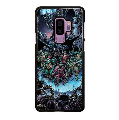 Batman Teenage Mutant Ninja Turtles Comic for Samsung Galaxy S9 Plus Case