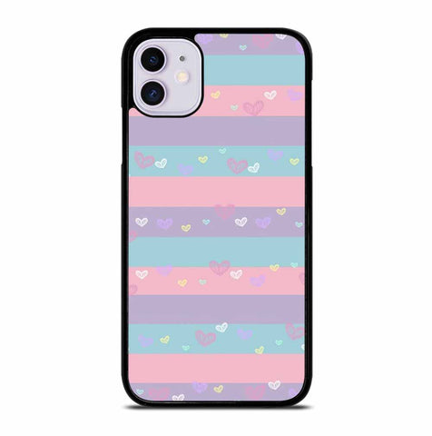 COLORFUL LOVE SYMBOL for iPhone 11 Case Cover