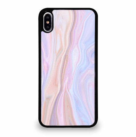 COLORFUL NATURAL TEXTURE OF MARBLE PATTERN iPhone XS Max Case