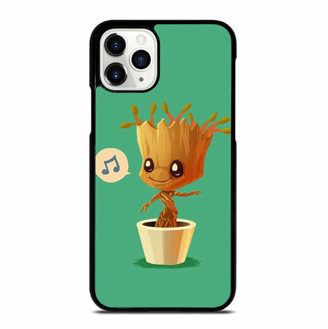 CUTE BABY GROOT for iPhone 11 Pro Case Cover