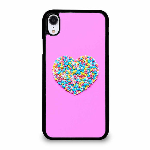 CUTE PINK CANDY for iPhone XR Case Cover