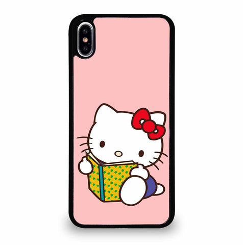 CUTE PINK HELLO KITTY iPhone XS Max Case