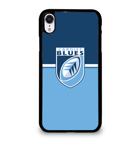 Cardiff Blues for iPhone XR Case