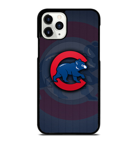 Chicago Cubs Baseball Logo for iPhone 11 Pro Case