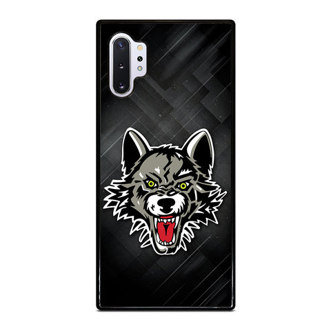 Chicago Wolves Logo for Samsung Galaxy Note 10 Plus Case Cover