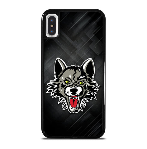 Chicago Wolves Logo for iPhone X and XS Case Cover