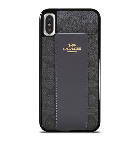 Coach New York Logo Bags for iPhone X or XS Case Cover