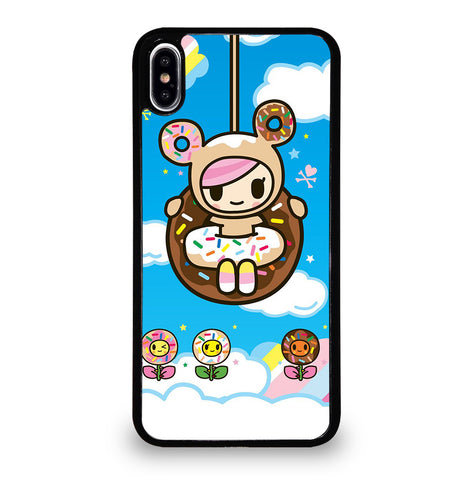 Cute Donutella Tokidoki for iPhone XS Max Case Cover