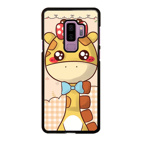 Cute Giraffe Cartoon for Samsung Galaxy S9 Plus Case Cover