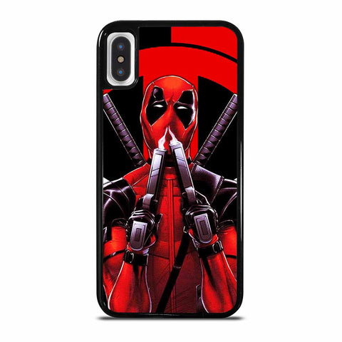 DEADPOOL AND THE BLACK PANTHER iPhone X or XS Case