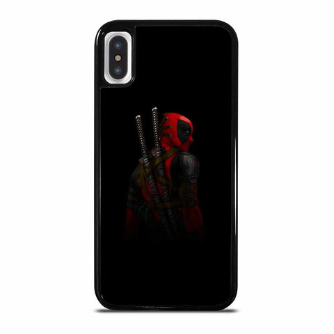 DEADPOOL BACK IN BLACK iPhone X or XS Case