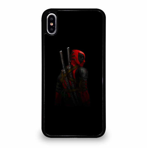 DEADPOOL BACK IN BLACK iPhone XS Max Case Cover