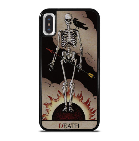 Death Tarot for iPhone X or XS Case
