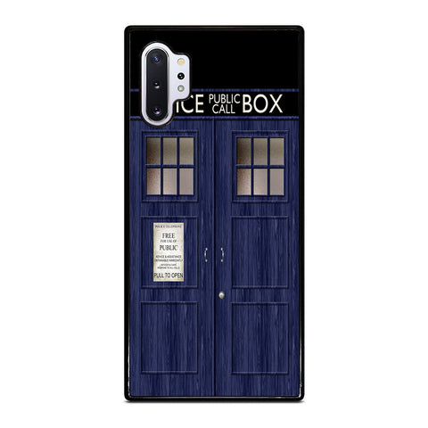 Doctor Who TARDIS for Samsung Galaxy Note 10 Plus Case Cover