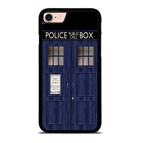 Doctor Who TARDIS for iPhone 7 or 8 Case Cover