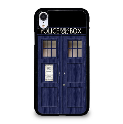 Doctor Who TARDIS for iPhone XR Case Cover