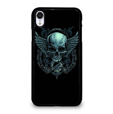 Evil Skull Wings for iPhone XR Case Cover