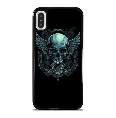 Evil Skull Wings for iPhone X or XS Case