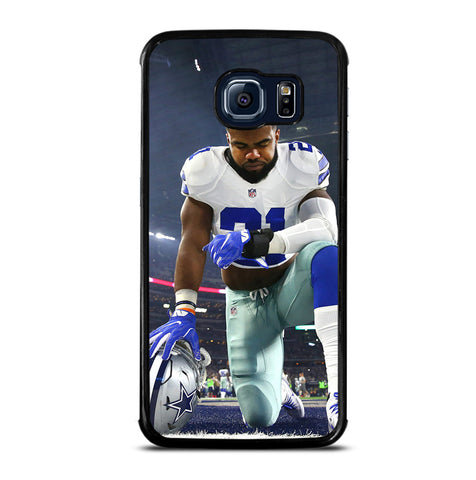 Ezekiel Zeke Elliot Dallas Cowboys for Samsung Galaxy S6 Edge Case Cover