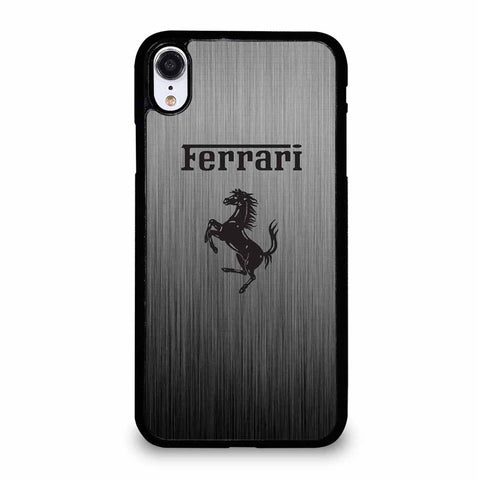 FERRARI AND HORSE LOGO iPhone XR Case