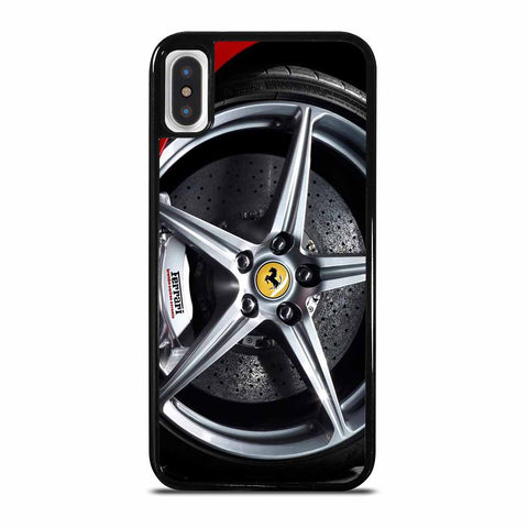 FERRARI WHEELS iPhone X/XS Case