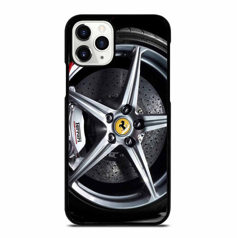 FERRARI WHEELS iPhone 11 Pro Case
