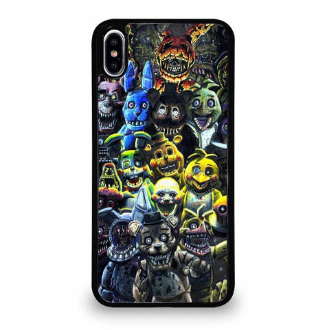 FIVE NIGHTS AT FREDDY'S FNAF for iPhone XS Max Case