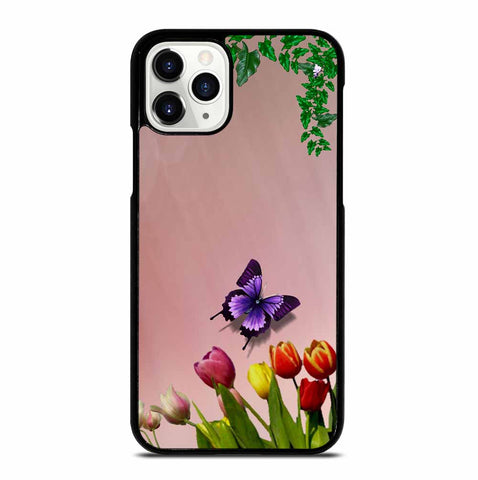 FLOWER LEAVES iPhone 11 Pro Case Cover