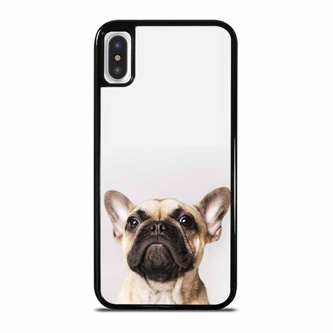 FRENCH BULLDOG PUPPY iPhone X/XS Case Cover