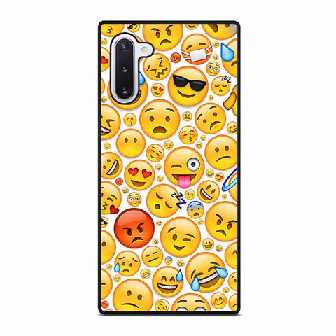 FUNNY EMOJI FACES for Samsung Galaxy Note 10 Case
