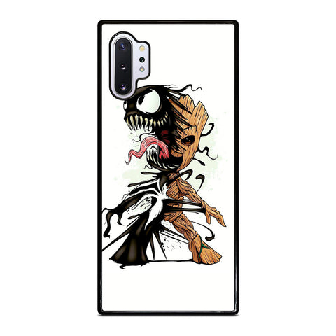 Funny Baby Groot Venom for Samsung Galaxy Note 10 Plus Case