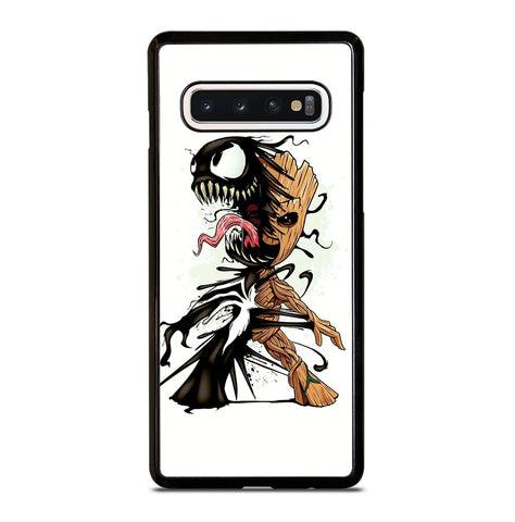 Funny Baby Groot Venom for Samsung Galaxy S10 Case Cover