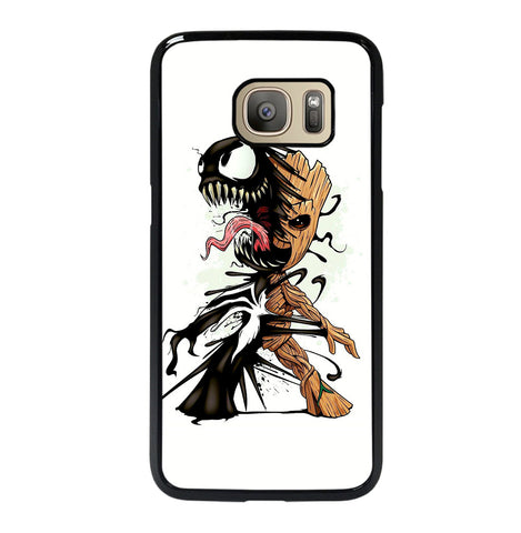 Funny Baby Groot Venom for Samsung Galaxy S7 Case