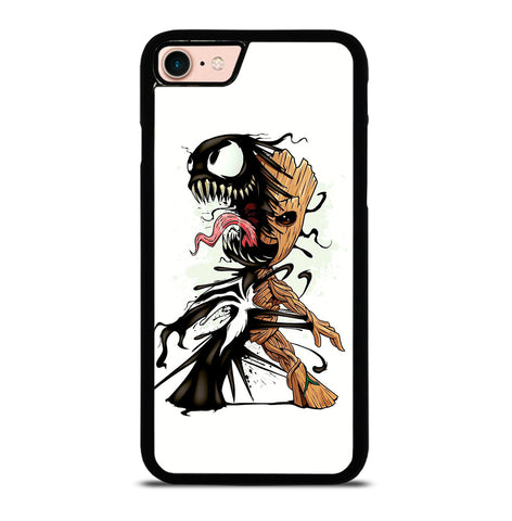 Funny Baby Groot Venom for iPhone 7 or 8 Case Cover