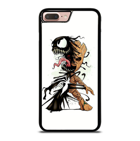Funny Baby Groot Venom for iPhone 7 or 8 Plus Case