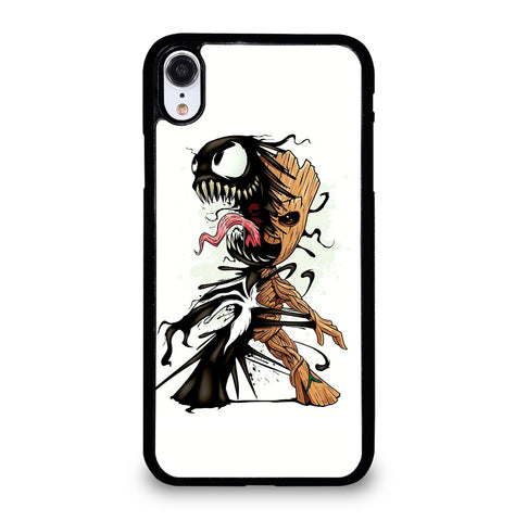 Funny Baby Groot Venom for iPhone XR Case Cover
