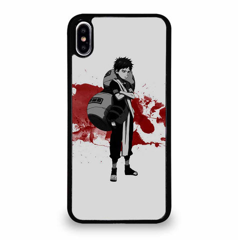 GAARA ANIME NARUTO iPhone XS Max Case Cover