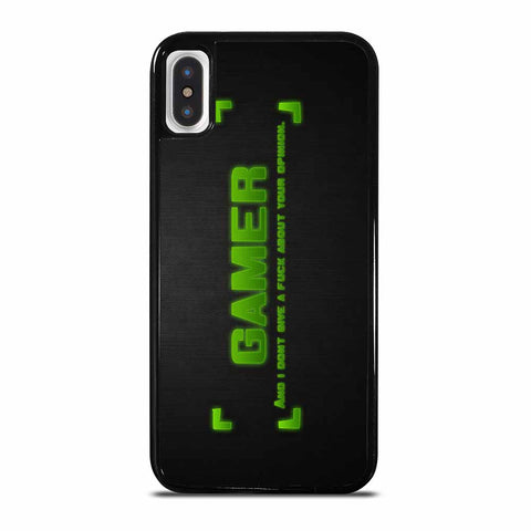 GAMER QUOTES iPhone X/XS Case