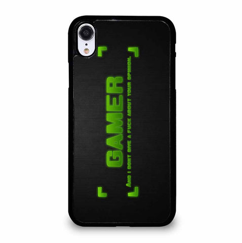 GAMER QUOTES iPhone XR Case Cover