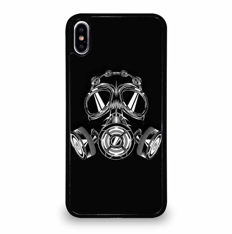 GAS MASK BIOHAZARD for iPhone XS Max Case