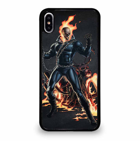 GHOST RIDER SKULL for iPhone XS Max Case Cover