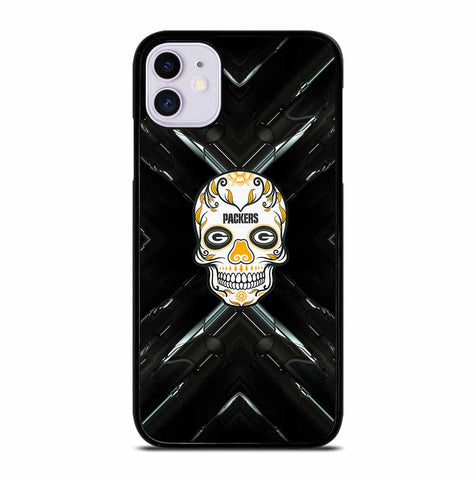 GREEN BAY PACKERS SKULL for iPhone 11 Case