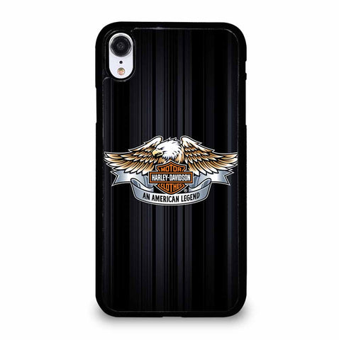 HARLEY DAVIDSON LOGO STRIPED iPhone XR Case Cover