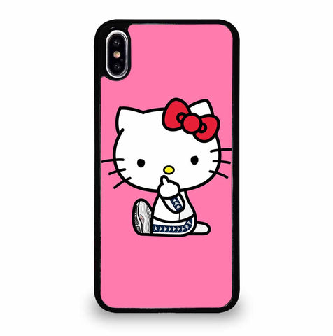 HELLO KITTY MIDDLE FINGER iPhone XS Max Case Cover