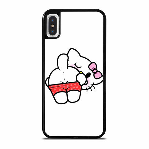 HELLO KITTY OUTRAGEOUS iPhone X and XS Case Cover