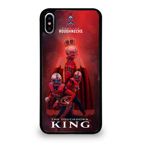 Houston Roughnecks for iPhone XS Max Case Cover